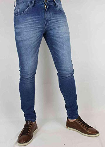 Calça skynny jeans claro médio - Black West