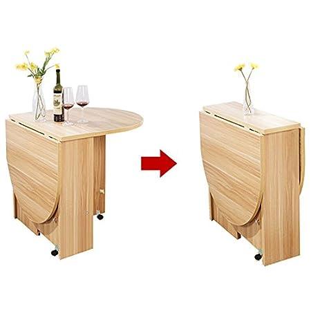 GLJ Mesa Plegable Mesa de pie Cocina Mesa de Comedor retráctil ...