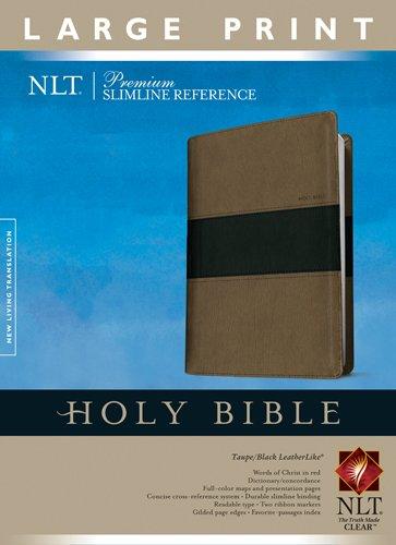 premium-slimline-reference-bible-nlt-large-print-tutone-premium-slimline-reference-lp-nltse