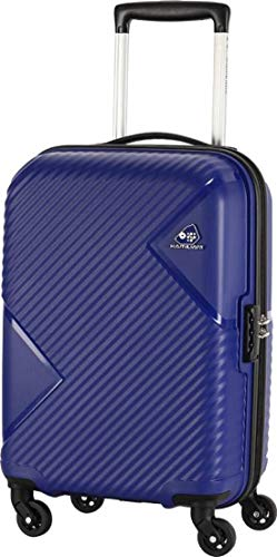 kamiliant Tourister Polypropylene Blue 20 Inch Hard Luggage Cabin Suitcase Trolley