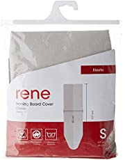 Rene Ironing Board Cover Elastic [3mm thickness padding] Iron Board Casing Small E00061 107 x 43 cm