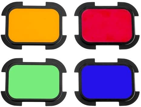 BD-07 Flashpoint Barndoor Kit for The eVOLV 200 Fresnel Head with 4 Color gels