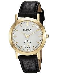 Bulova Womens 97L159 Dress White Dial Watch