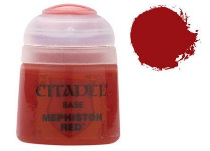 Games Workshop Citadel Base: Mephiston Red -