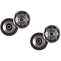 Polk Audio DB651s Slim-Mount 6.5-Inch Coaxial Speakers - 2 pairs (4 speakers)