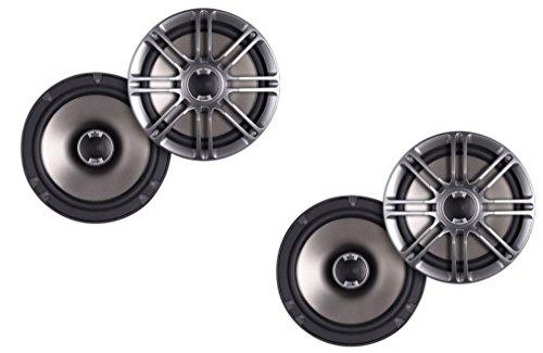 Polk Audio DB651s Slim-Mount 6.5-Inch Coaxial Speakers - 2 pairs (4 -