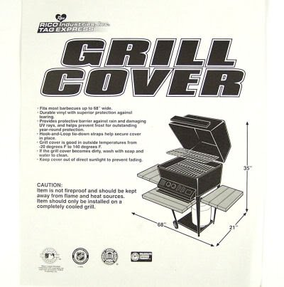 Rico Industries-Tag Express Oklahoma Sooners Economy Grill Cover