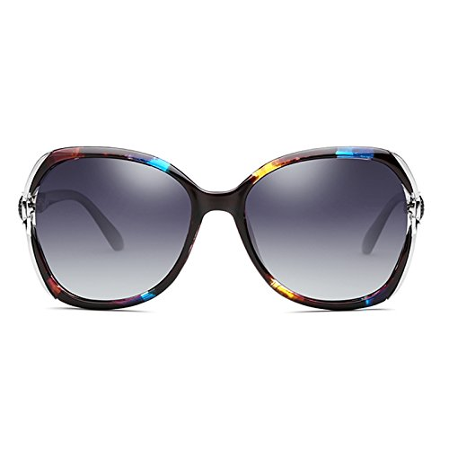 color Con De Polarizadas Marco Elegantes Sol Color Gafas Multi Sol De color Multi Gafas LIUXUEPING zX8xt6wCwq