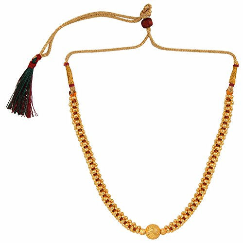 Efulgenz Indian Bollywood Traditional White Red Rhinestone Faux Ruby Pearl Designer Thusi Style Necklace in Antique 18K Gold Tone for Women and Girls (Style 4)