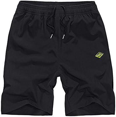 WDDGPZ Pantalones Cortos De Playa/8 Colores Algodón Cortos Hombre ...