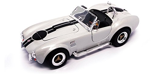 Road Signature 92058 1964 Shelby Cobra 427 S/C Grey 1/18 Diecast Model Car (Signature Model Cars)