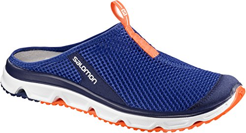 Salomon Herren RX Slide 3.0 Traillaufschuhe Blau (Surf The Web/white/shocking Orange Surf The Web/white/shocking Orange)