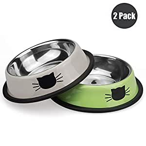 Amazon.com: Petfamily tazón de acero inoxidable ...