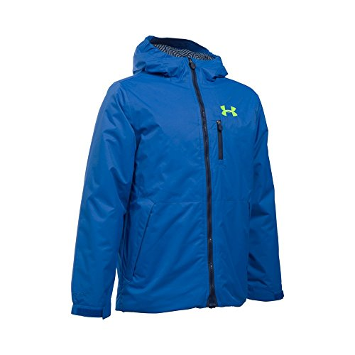 Under Armour Boys Jacket - Under Armour Boys' ColdGear Reactor Yonders Jacket, Ultra Blue/Midnight Navy, Youth Small
