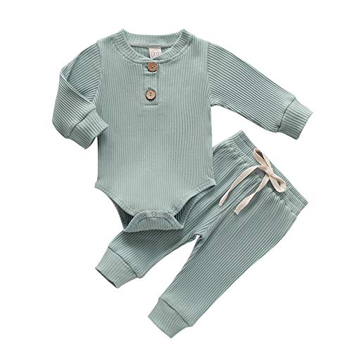 T- Babykledingset voor meisjes met lange mouwen, romper, body shirt + lange broek, kledingset voor lente en zomer…