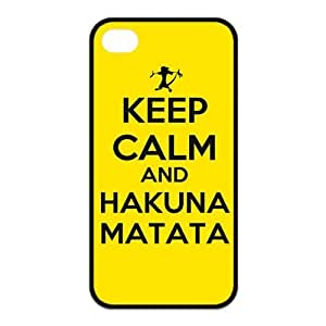 FashionFollower Design Creative Article Series Hakuna Matata Beautiful Phone Case Suitable For iphone4/4s IP4WN50701