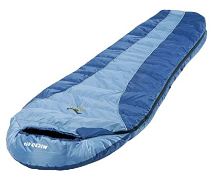 SALEWA Saco de Dormir Micro 450 Azul, Azul Claro Talla:Izquierda