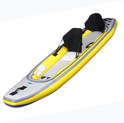 Airis Play Tandem 6.5 PSI Inflatable Kayak for 1 or 2 paddlers by Airis Inflatables