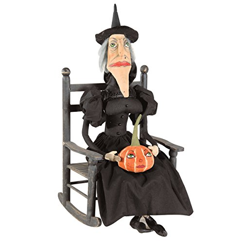 Gallerie II Gathered Traditions Victoria Witch Collectible Figurine, Black]()