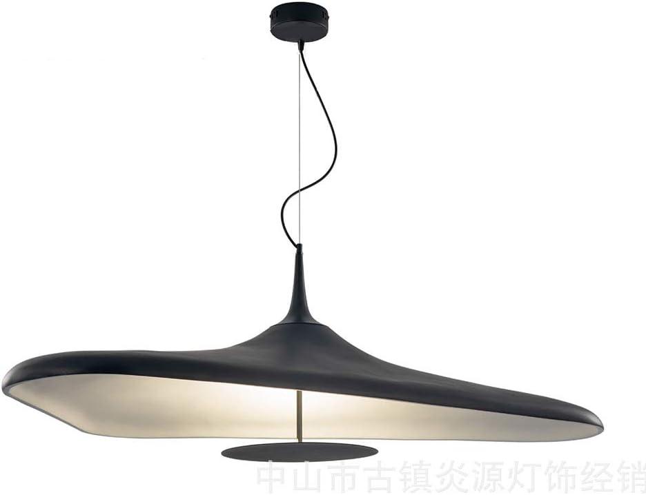 Wj Nordic Retro Pendiente de la lámpara Accesorios de Negro La Creatividad de Acero Que cuelgan de Techo del LED American Metal Pantalla lámparas Pendientes Industrial Dormitorio Cafe iluminación