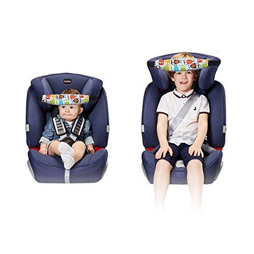 Lorcoo Kindersitz Befestigung Riemen Kopf Halter 2pcs Autositz