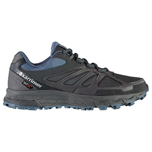 Trail Karrimor Womens Ankle Waterproof 5 Shoes Grey Lace Tempo Running Padded Blue Up rrawq