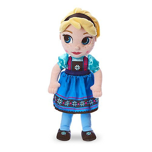 Disney Animators' Collection Elsa Plush Doll - Frozen - Small - 13 inch