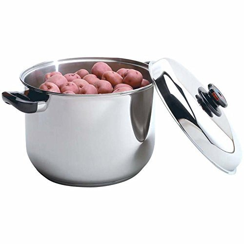HealthSmart 16qt Stainless Steel Waterless Stockpot by (16 Qt Waterless Stock Pot)