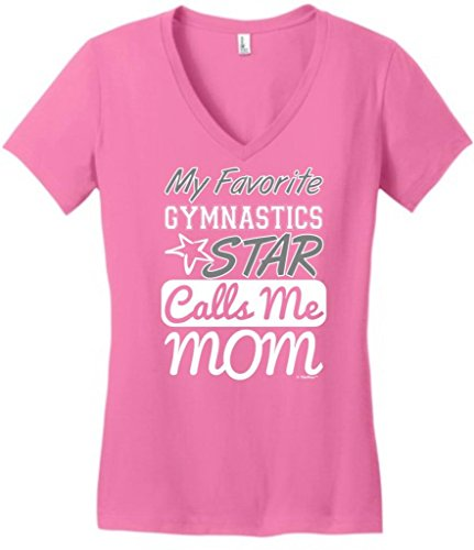 ThisWear My Favorite Gymnastics Star Calls Me Mom Juniors, used for sale  Delivered anywhere in USA