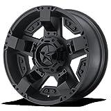 xd rims rockstar - 20 Inch KMC XD Series RS2 Matte Black With Matte Black Accents wheels 20x9 KMC XD Series rims BP:Blank