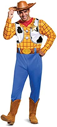 Disguise Men's Disney Pixar Toy Story and Beyond Woody Classic Cos