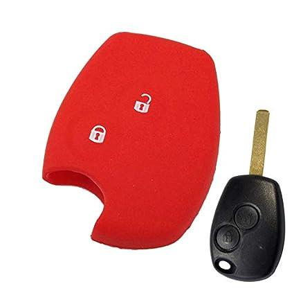 Llavero de silicona con 2 botones para Renault Clio Duster ...