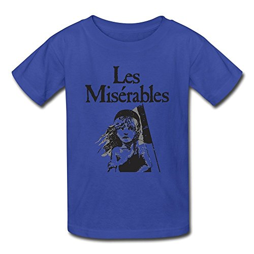 AOPO Les Miserables Tshirts For Kids Unisex Small RoyalBlue (Super Easy Halloween Songs)