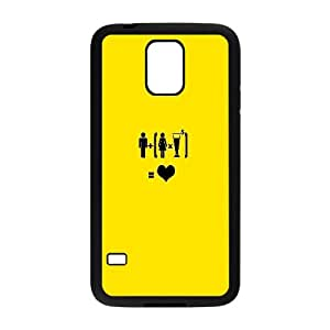 Loving While Drinking Funny02 Samsung Galaxy S5 Cell Phone Case Black Decoration pjz003-3789995