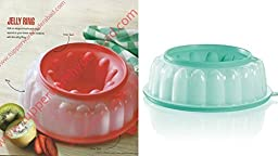 Tupperware 6 Cup Jel-Ring Jello Mold Ice Ring, Mint Green