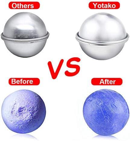Yotako Kit de molde para bombas de baño, forma de bomba de baño de ...