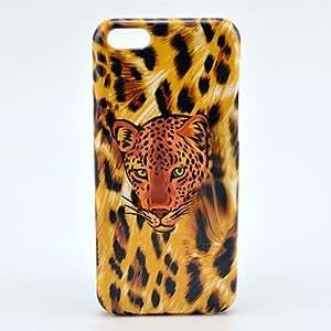 Godlike- Leopard Head Pattern Plastic Back Case for iPhone 5C