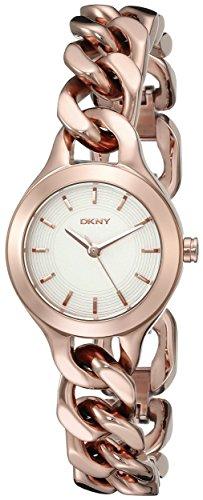 Dkny Gold Watch (DKNY Women's NY2214 CHAMBERS Rose Gold Watch)