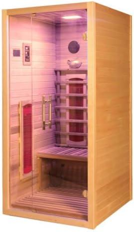 Cabine Infrarouge Nobel Sauna 150 C Avec Duo Flex Strahlern Oxyde De Magnésium Spectre Complet Amazon Fr Bricolage