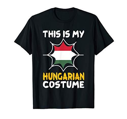 This Is My Hungarian Costume Halloween Patriot Hungary Tee -