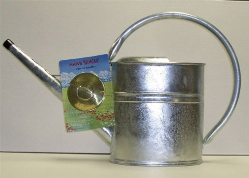 Haws Slimcan 8 Liter (2 US gallon) Galvanized Watering Can