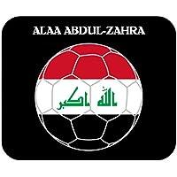 Alaa Abdul-Zahra (Iraq) Soccer Mouse Pad