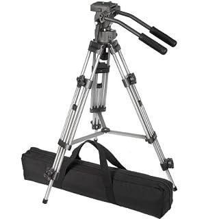 Ravelli AVTP Professional 65mm Video Camera Tripod with Fluid Drag Head (B00139W0XM) | Amazon price tracker / tracking, Amazon price history charts, Amazon price watches, Amazon price drop alerts