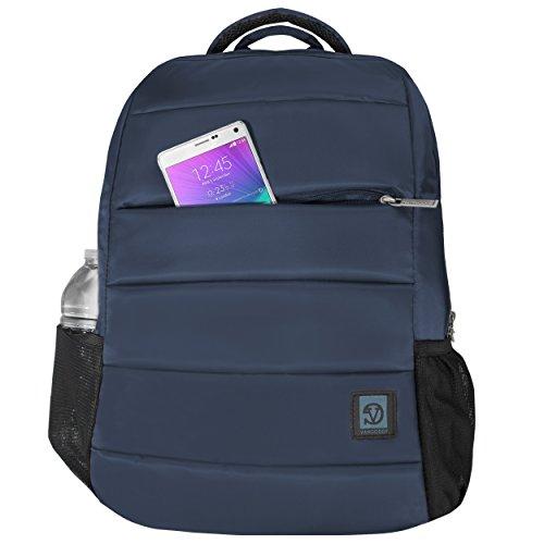 Monti Double Padded Big Student Classics Backpack for Toshiba Satellite Radius 15.6 | Satellite Fusion 15
