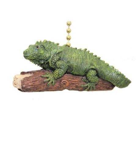 Green Iguana Fan Pull