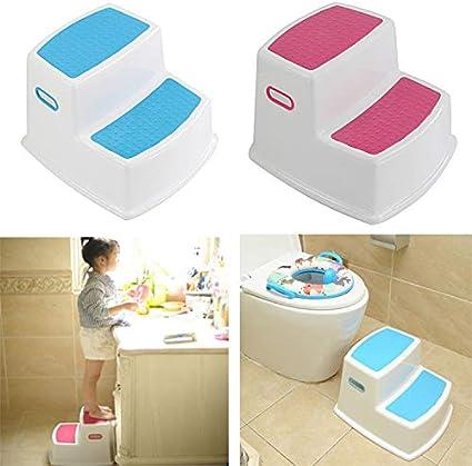 Starall 2 Step Hocker f/ür Kinder Kleinkind Hocker f/ür Toilette T/öpfchen Bad K/üche