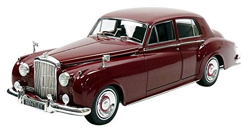 Minichamps–S21954Bentley Fahrzeug Miniatur, 100139955, bordeaux, Maßstab 1/18