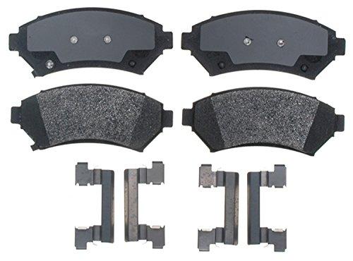 ACDelco 17D699MH Professional Semi-Metallic Front Disc Brake Pad Set