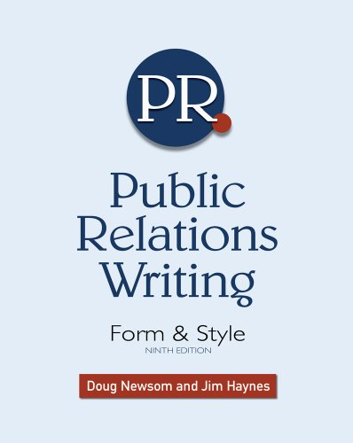 Download Public Relations Writing: Form & Style Pdf
