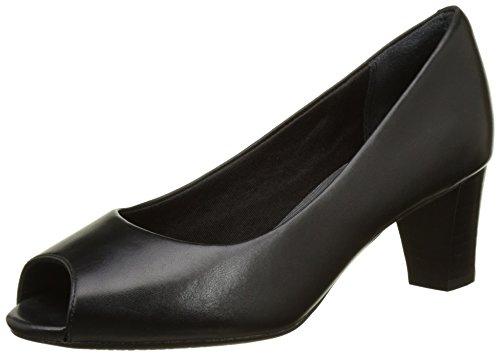 Rockport Audrina Peep - Zapatos Mujer Noir (Black)